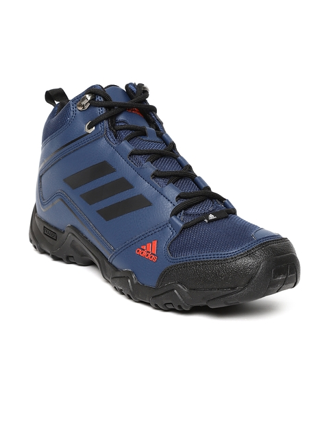 Adidas Men Navy Blue Aztor Hiker Mid II Hiking Shoes
