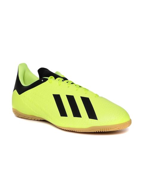 Adidas Men Fluorescent Green X Tango 18.4 Indoor Football Shoes
