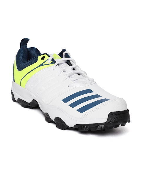 Adidas Men White 22 Yards Trainer Cricket Shoes