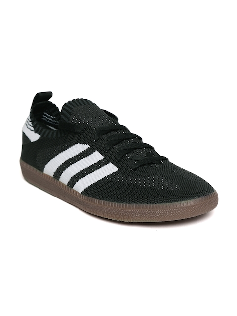Adidas Originals Men Black Samba Prime Knit Sock Casual Shoes