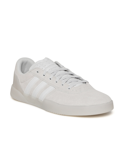 Adidas Originals Men Grey City Cup Skate Shoes