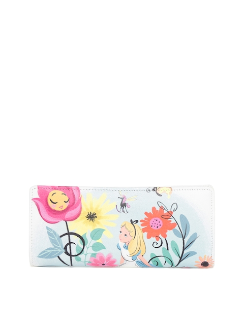 Holii Women Multicoloured Printed Two Fold Wallet