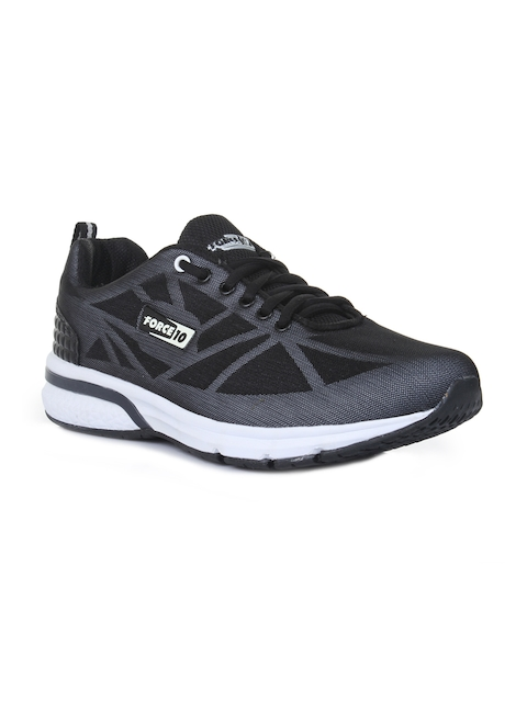 Force 10 By Liberty Men Black Running Shoes