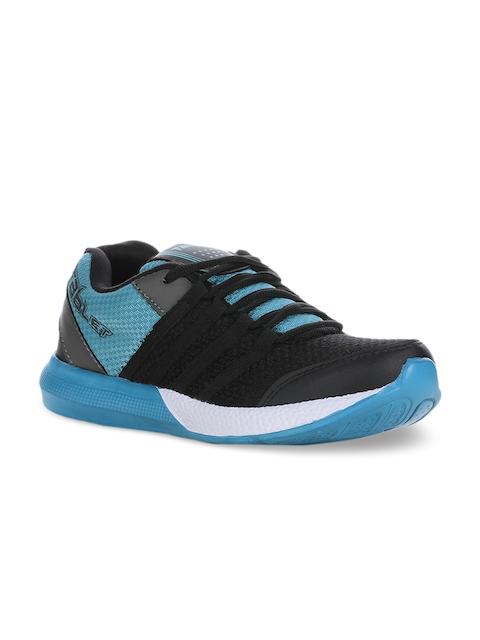 Columbus Men Black Running Shoes TB-328-BlackAqua-10
