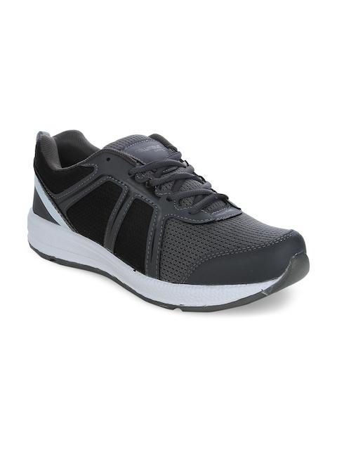Columbus Men Black Running Shoes