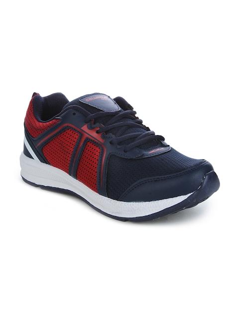 Columbus Men Red Running Shoes