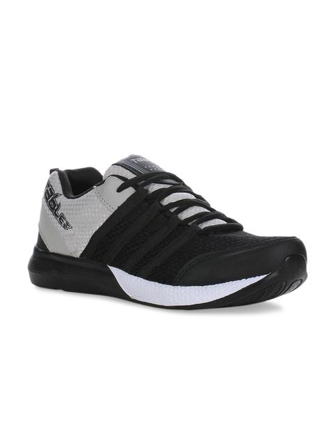 Columbus Men Grey Running Shoes TB-328-BlackGrey-10
