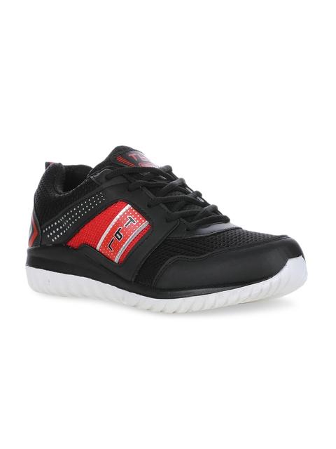 Columbus Men Black Running Shoes TB-324-BlackRed-10