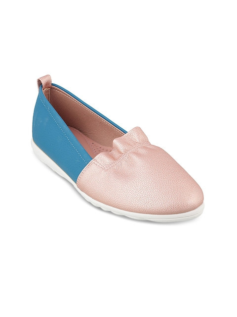 Mochi Women Pink Loafers