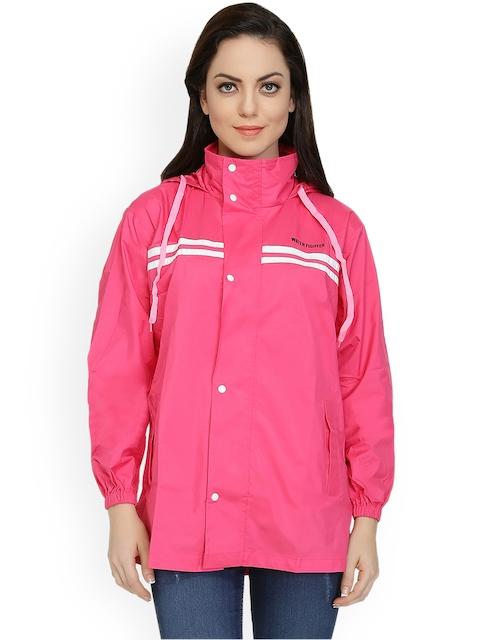 Zeel Pink Rain Jacket