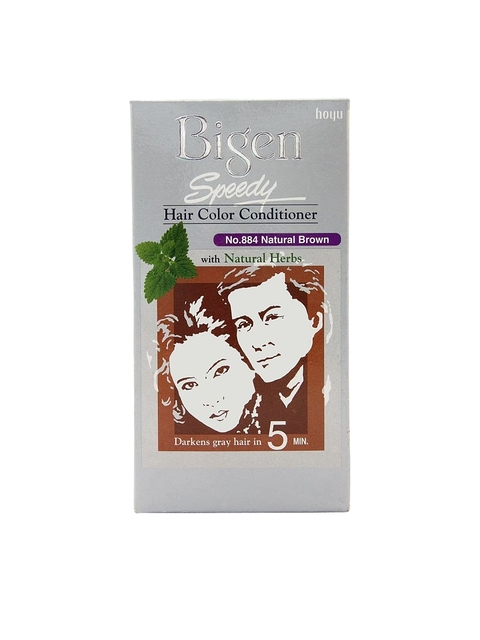 Bigen Unisex Natural Brown 884 Speedy Hair Color