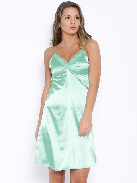 SDL by Sweet Dreams Mint Green Baby-Doll F-241109