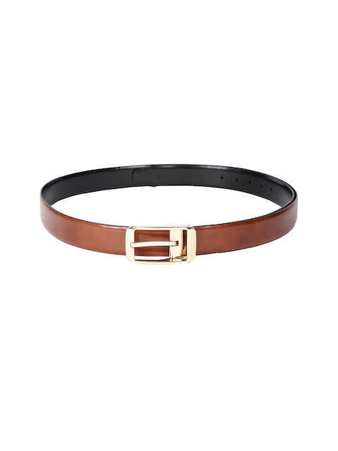 Van Heusen Men Brown Leather Belt