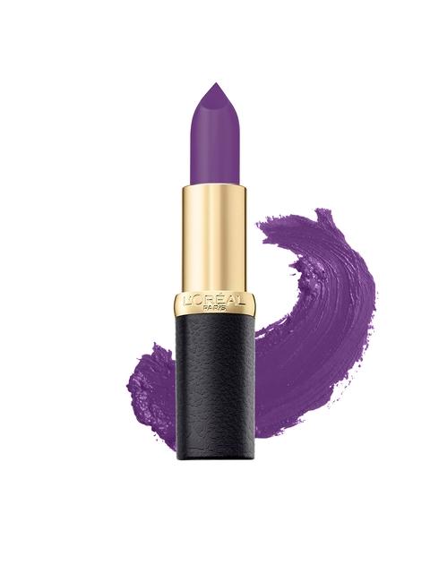 LOreal Paris 241 Purple Calltime Color Riche Moist Matte Lipstick 3.7 g