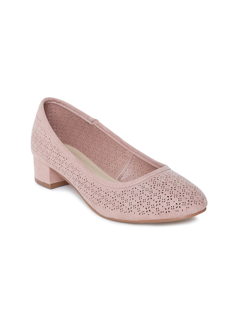 Ginger by Lifestyle Women Pink Pumps