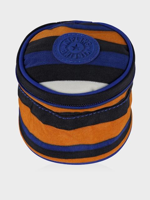 Kipling Unisex Multicoloured Striped Round Travel Pouch