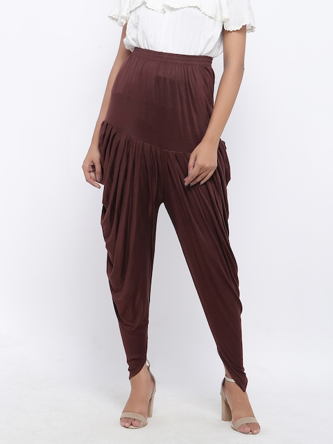 SOUNDARYA Brown Harem Pants