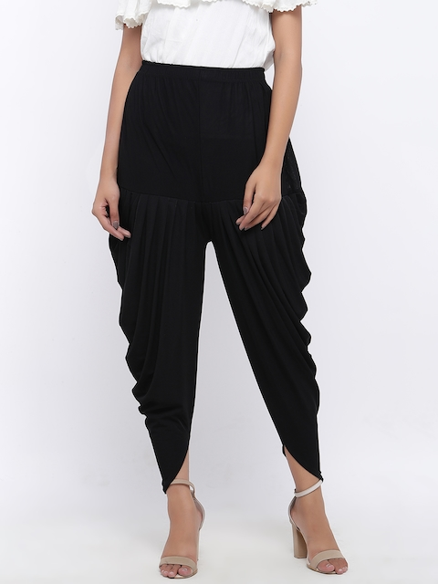 SOUNDARYA Black Harem Pants