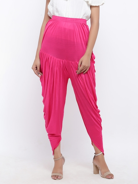 SOUNDARYA Pink Harem Pants