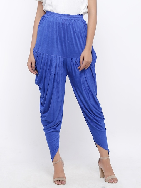 SOUNDARYA Blue Harem Pants