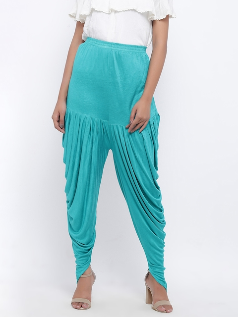 SOUNDARYA Sea Green Harem Pants