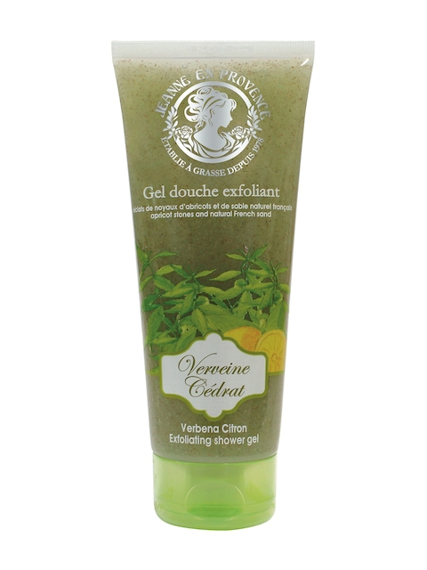 JEANNE EN PROVENCE Exfoliating Apricot and Natural sand Shower Gel