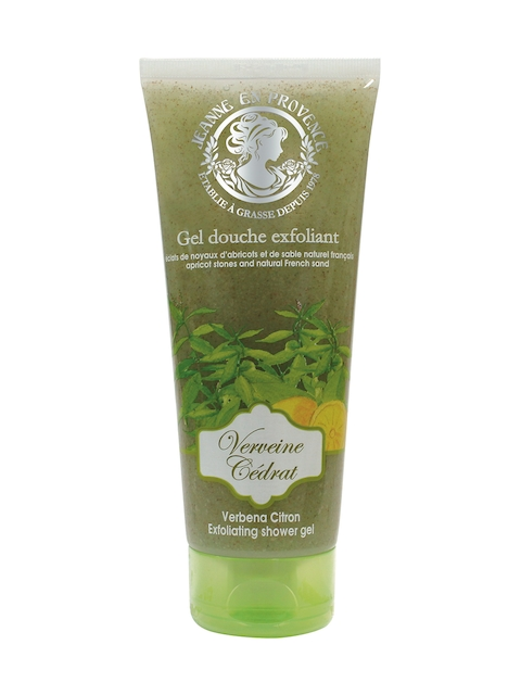 JEANNE EN PROVENCE Exfoliating Verbena Citron Shower Gel