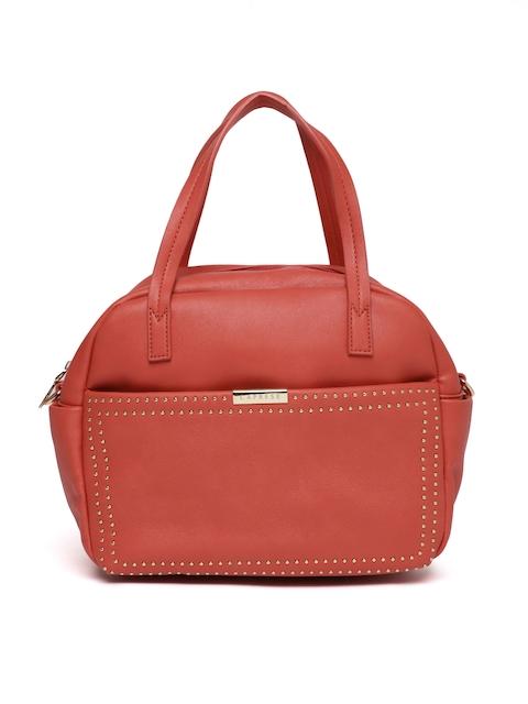 Caprese Coral Embellished Handheld Bag