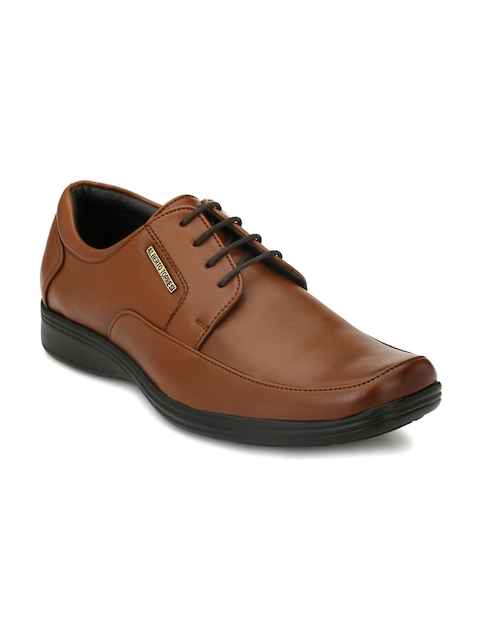 Alberto Toressi Men Tan Formal Derbys