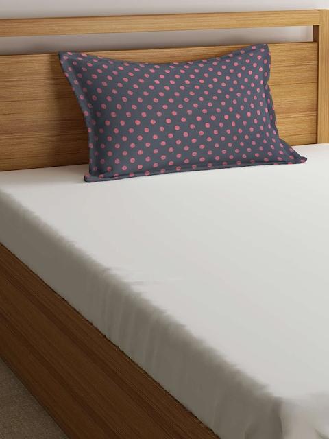 THE BABY ATELIER Kids Grey & Pink 40.6 cm x 60.9 cm Rectangular Pillow Cover