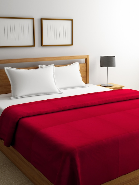 Portico New York Red Double Bed Duvet Cover