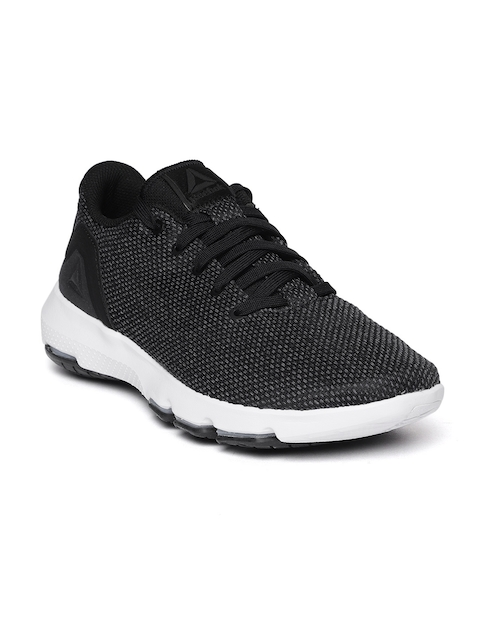 Reebok Men Black & Grey Cloudride DMX 3.0 Walking Shoes