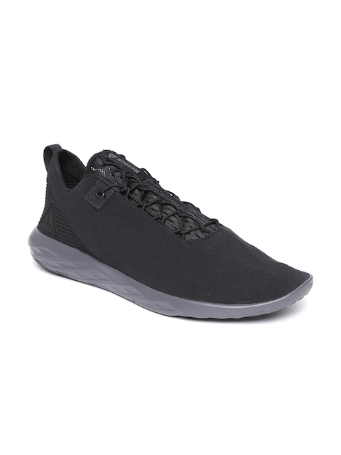 Reebok Men Black Astro Flex & Fold Walking Shoes