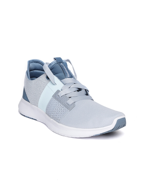 Reebok Women Blue & Grey Colourblocked TRILUX Running Shoes