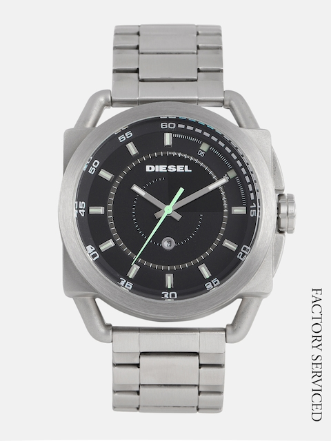DIESEL Men Black Analogue Watch DZ1579_Factory_Serviced