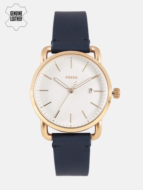Fossil Women White Analogue Watch ES4334I_OR