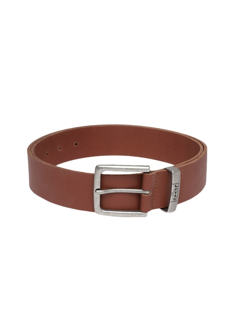 Levis Men Brown Solid Belt