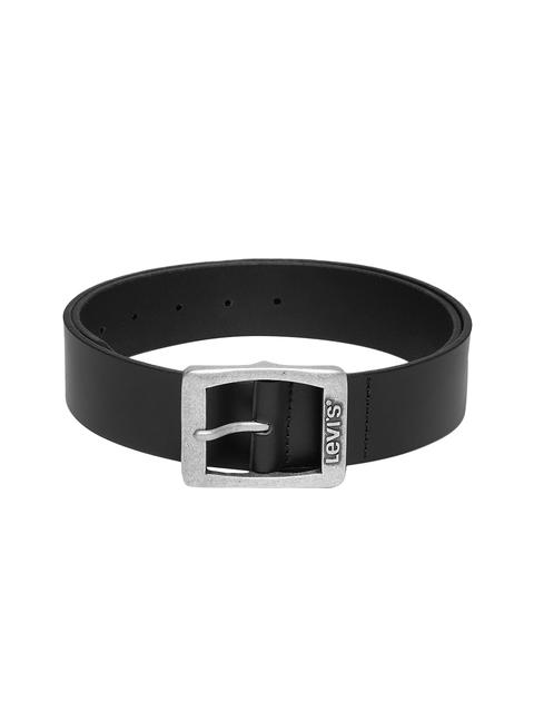 Levis Men Black Solid Belt