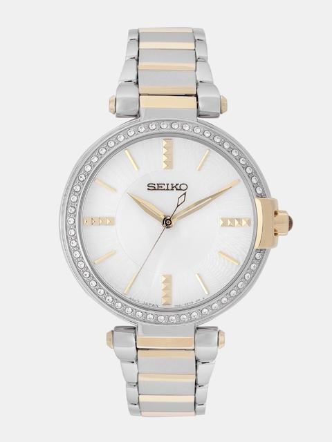 SEIKO Women Off-White Analogue Watch SRZ516P1
