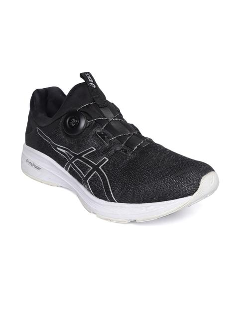 ASICS Men Dynamis Black Running Shoes