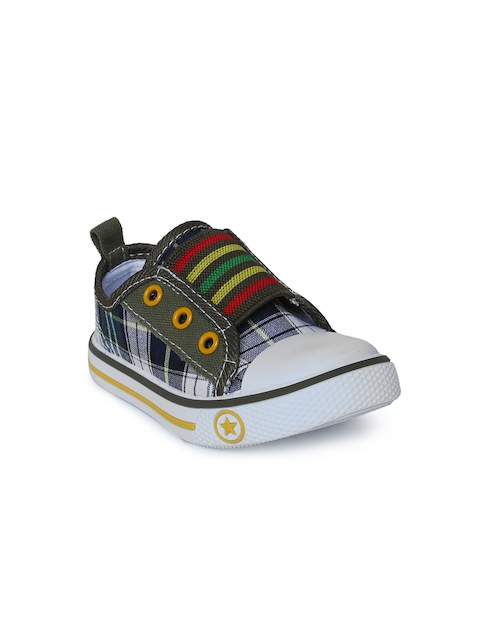 Fame Forever by Lifestyle Boys Navy Blue Slip-On Sneakers