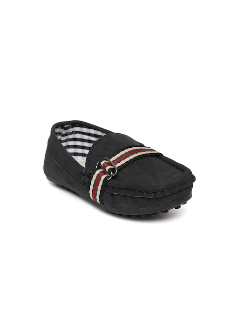 Fame Forever by Lifestyle Boys Black Loafers