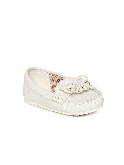 Fame Forever by Lifestyle Girls White Loafers