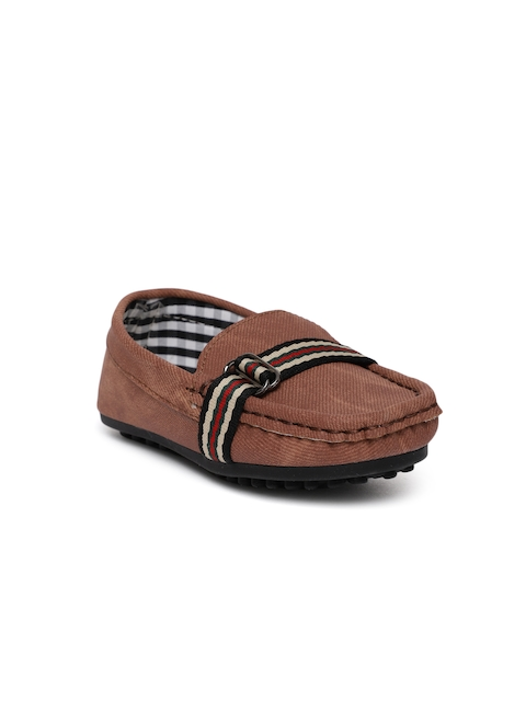 Fame Forever by Lifestyle Boys Brown Loafers