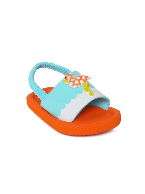 Fame Forever by Lifestyle Girls Blue & Orange Colourblocked Sliders