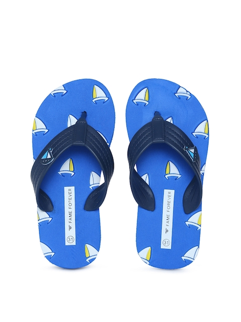 Fame Forever by Lifestyle Boys Navy Blue Thong Flip-Flops