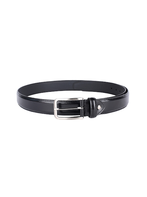 Van Heusen Men Black Solid Belt