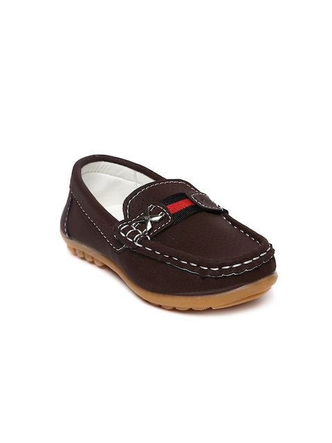 Kittens Boys Brown Loafers