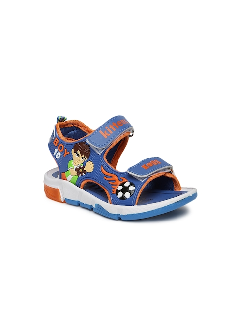 Kittens Boys Blue Comfort Sandals