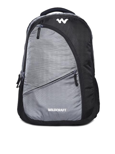 Wildcraft Unisex Grey & Black Avya 2 Laptop Backpack